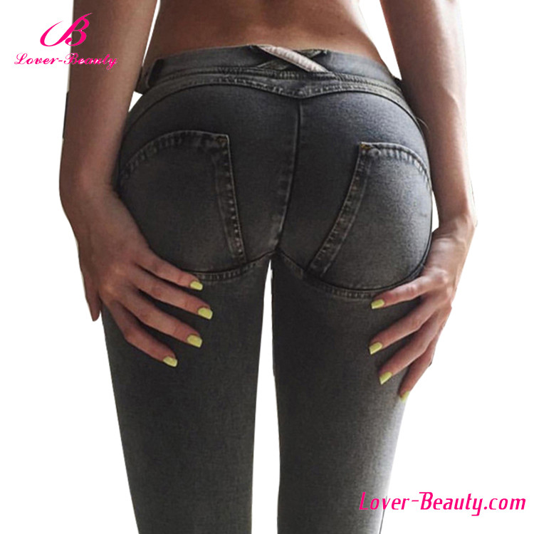 Wholesale Hot Women Plus Size Brazilian Butt Lift Jeans