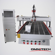 Cylindrical products processing CNC router 1325 with rotary device/Customized CNC router woodworking cutting machine OMNI