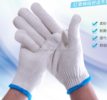 More Win Amazon Hot Sell Wholesale Knitting Safety Working Glove Cotton Gloves