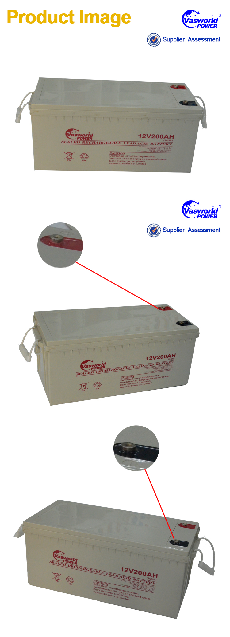 Sealed Lead Acid Solar Battery 200ah 12v With Long Life Design Buy Circuit Charger For