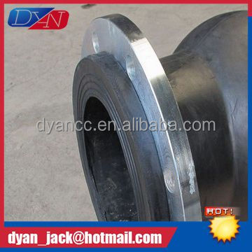 DN50-DN2000 elbow pvc pipe fittings with rubber joint for radiation hardening