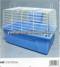 Folding matel wire rabbit cages, easy clean rabbit cage for sale