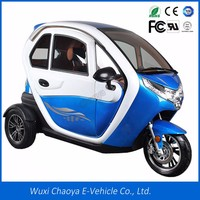 Adult 3 Wheel Electric trike/Closed Type electric Tricycle For Passenger three wheel electric scooter EEC