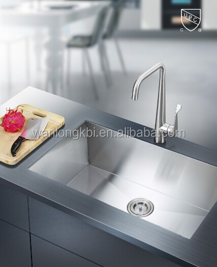 Backside Of Stainless Steel Kitchen Sink