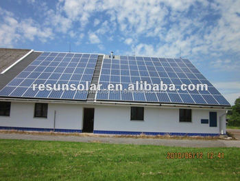 high efficieny 1KW off-grid solar power system with certificate TUV ISO EC