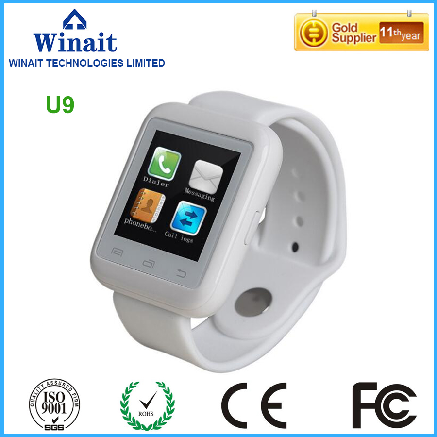 smart watch phone u9 with touch display digital bluetooth watch