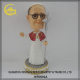 Custom shaking head polyresin godfather bobble head