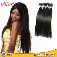 XBL 2015 new quality Indian hair weaving full cuticle Indian hair wholesale