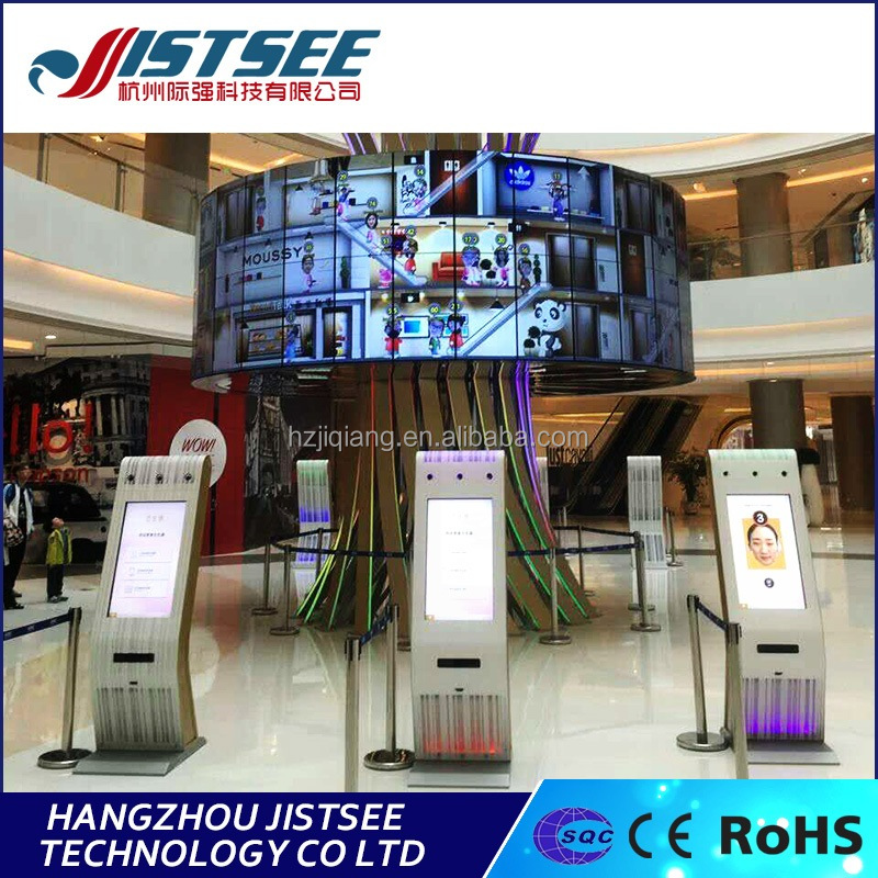 2017 latest design most advanced composite intelligent tree advertising screen