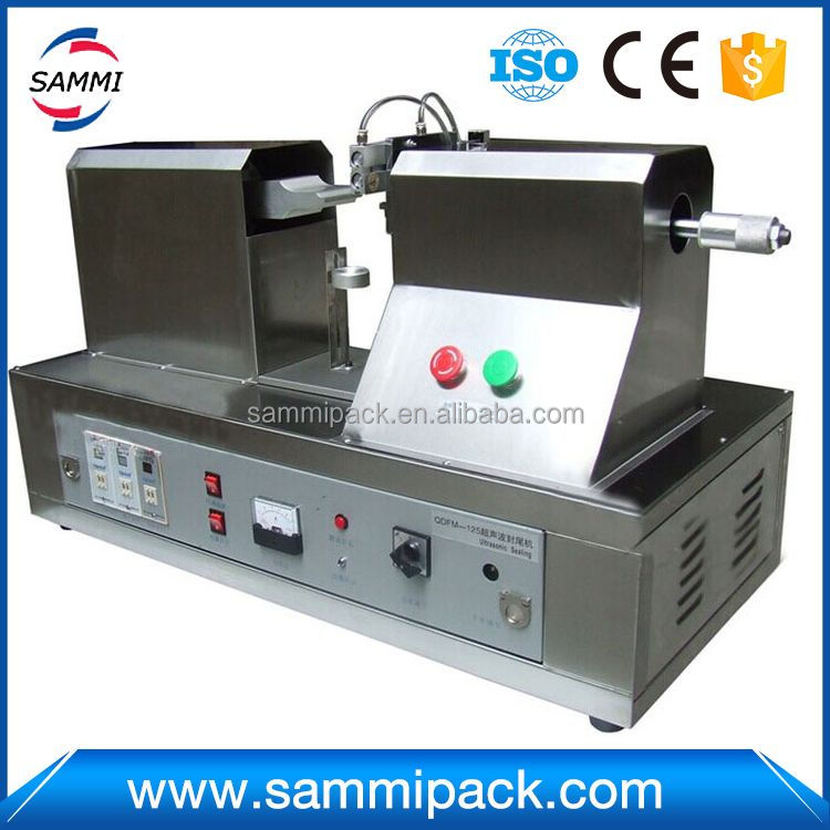 New product gold supplier toothpaste candy tube sealing machine