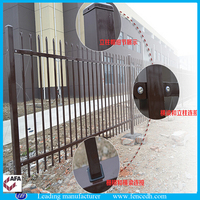 Iron fence dog kennel, Fence for villas, Livestock metal fence panels