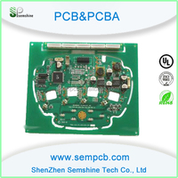 Quality products PCB& PCBA electronic black mild network pcb assembly