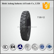 Top brand China solid forklift tire 700-12 for sale
