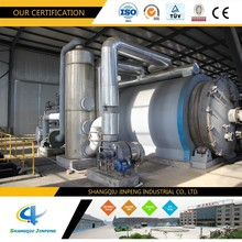 Waste Tyre and E Waste Recycling Pyrolysis Machine