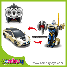 Best selling 1:14 trans robot toy car remote control robot toy