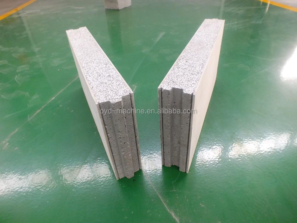 espuma ligera compuesto de cemento panel de pared para la casa barato precios
