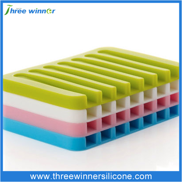 Cheap rubber soap holder colorful silicone soap holder