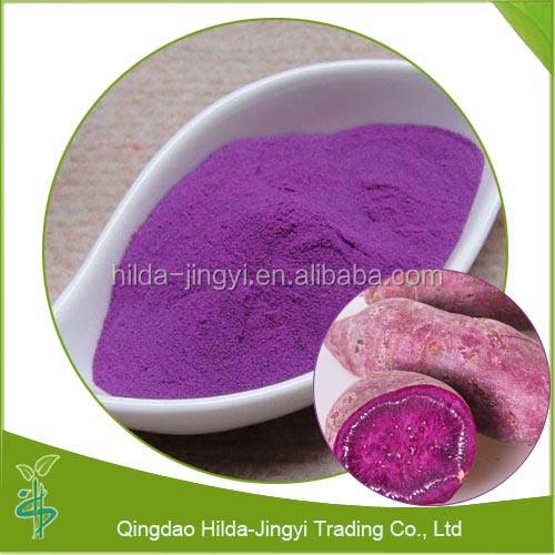 Natural extract colouring purple sweet potato pigment