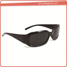 Dioptric pinhole grid glasses ,p0whsK black pinhole glasses eye care dioptric glasses for sale