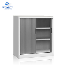 Modern good quality steel office filing cabinet roller shutter door cabinet
