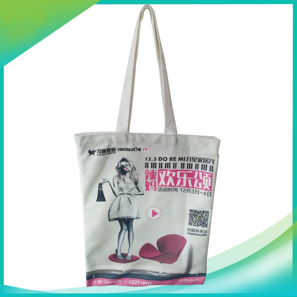factory custom cotton canvs tote 8oz canvas shopping bag handle style cotton bag