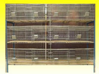 Commercial rabbit breeding cages and breeding pans for sale