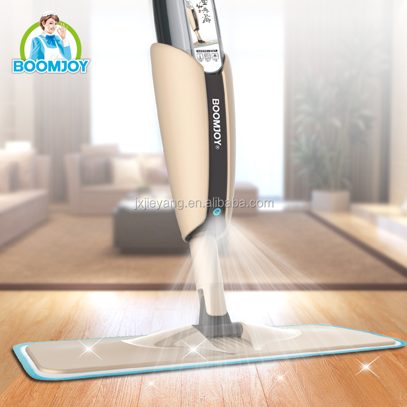 Boomjoy FP-10Magic Floor Spray Mop with Removable Bottle Detachable and Washable Pad