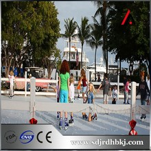 UHMW Plastic Skating Rink Distributor Low Cost PE Sheet Synthetic Ice Hockey Rink