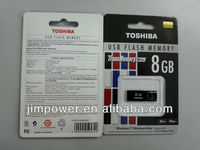 TOSHIBA mini 8GB USB /USB Flash Drives 8G Transmemory mini