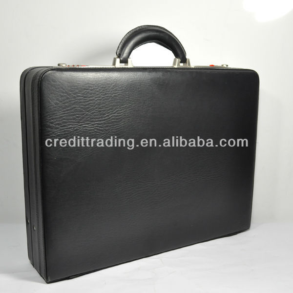 business leather attache case for men cheap with good quality
