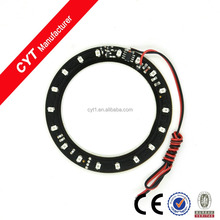 Green 80mm 3528 SMD Led Car Flash Ring light Angel Eyes