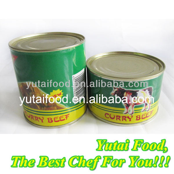 Meat Canning Plant Sell Curry Beef with Potato