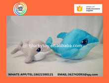 2016 New High-quality goods dolphins pillow doll plush toys dolphins doll present lovers toys for children stuffed toys