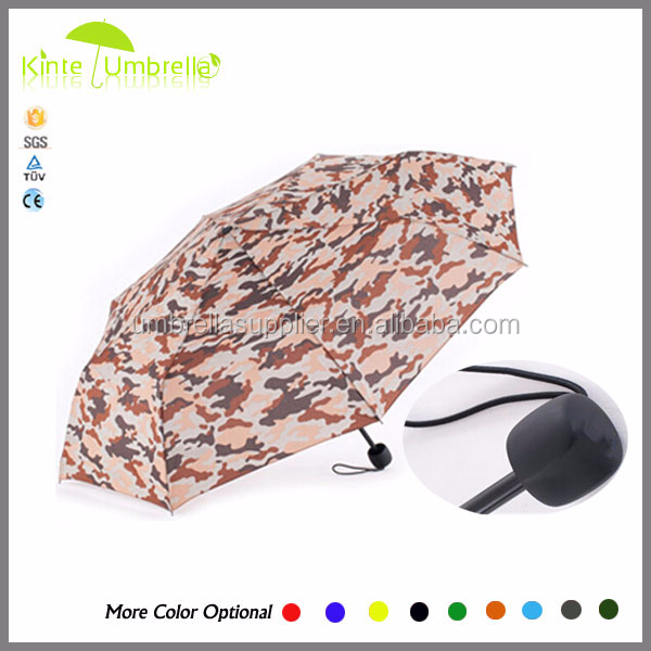 shenzhen printing umbrella 21inch 3 fold manual open function umbrella