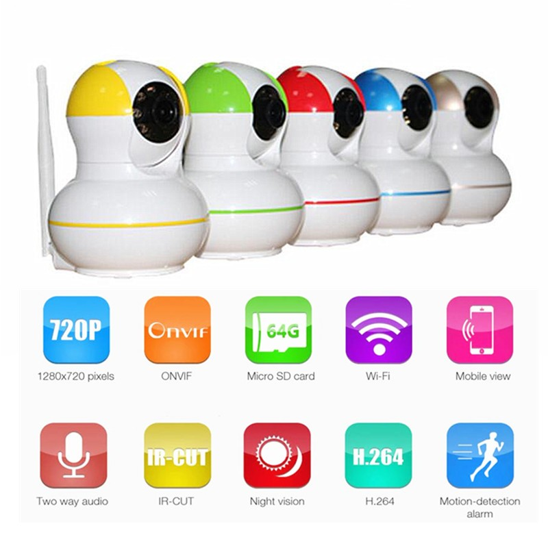 Wholesale Cheap Onvif 720P Wifi PTZ Dome Home Security CCTV System 24hours Working ptz camera