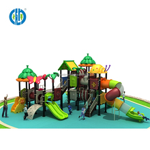 Custom school large outdoor spiral slide outdoor playground for children and adult