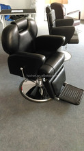 Reclining big hydraulic pump and base barber chair for hair salon