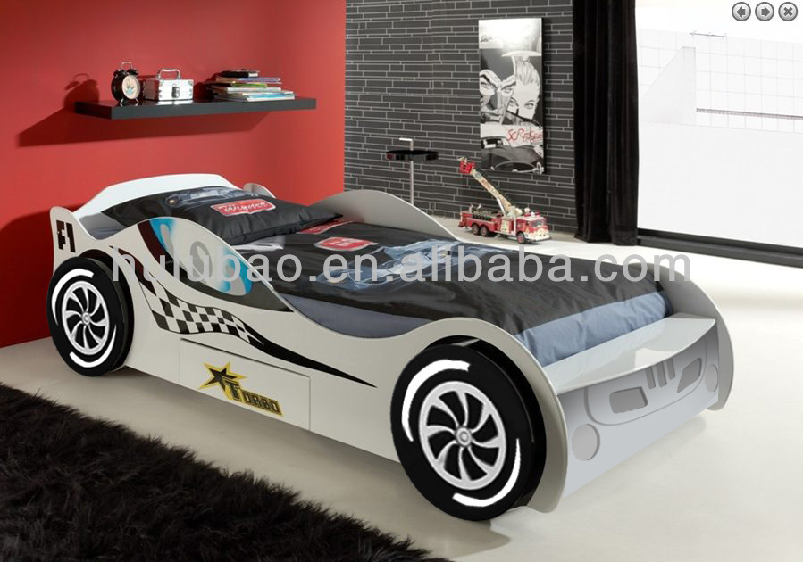 factory price kids furniture lamborghini car bed