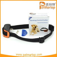 Dog electronic shock training collar TZ-PET665S Dog bark control electronic collar