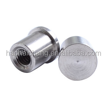 Custom Auto Turned Stainless Steel Electrical Welding Lock Nut