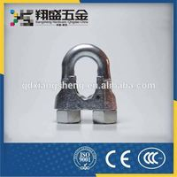 China Hot Sale Din741 Wire Rope Clamp