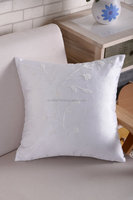 100% cotton beautiful deco pillow fashion designs embroidered cushion cover embroidery cushion cover