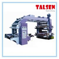 YT Series 4 color best sale flexo printing machine/latest printing machine