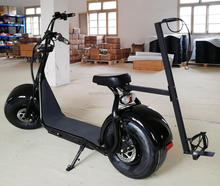 2000w fat tire electric golf trolley scooter