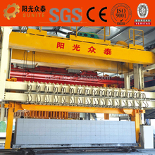 2017 Sunite aluminum powder aac block making machine/aac block cutting machine/jaw crusher