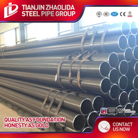 ASTM A53 ERW steel pipe /schedule 40 black iron pipe/global China