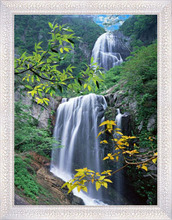 2015 Beautiful 3D Waterfall Picture with Scenery