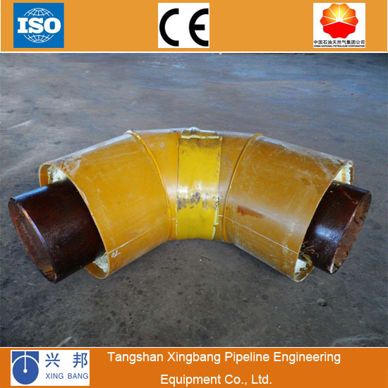 rubber reducer bend flange female flexible elbow insulation pipe fitting