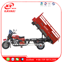 Petro Gasoline Diesel Gas 3 wheel motorcycle for cargo
