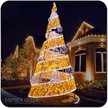 Holiday time ornament led light show tree christmas cheap tree led lights